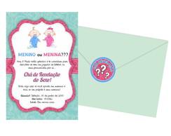 Convite Ch� Revela��o