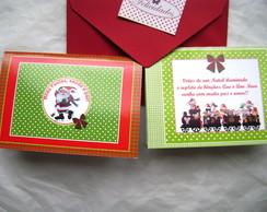Cart�o Natal Proven�al Duo