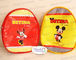 Mochila P - Minnie E Mickey