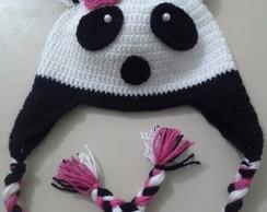 Touca Panda Menina ACM02