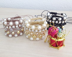3 Kits de pulseiras -  FRETE GRATIS