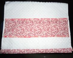 Toalha lavado proven�al rosa