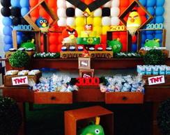 Decora��o R�stica Angry Birds R$350,00