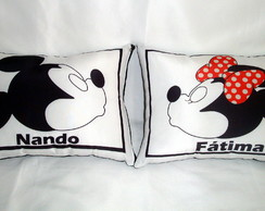 Almofada Decorativa Mickey e Minnie