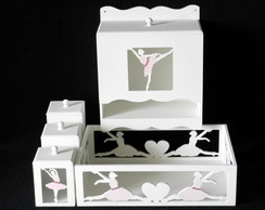 KIT BEB� BAILARINA - 5 PE�AS