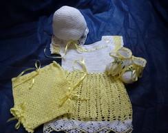 Kit feminino beb� em croch�