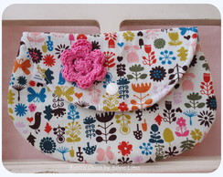 Clutch  Pass�ros e Flores
