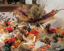 kit barca de flores secas I