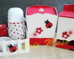 Kit higiene joaninhas com garrafa termic