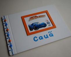 Livro de Mensagens Carros