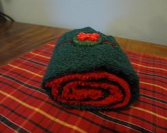 Rocambole de toalha (Natal)