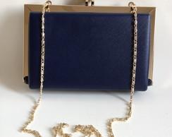 1438 - Bolsa clute azul marinho