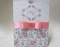 Convite Casamento Envelope Luva Grd
