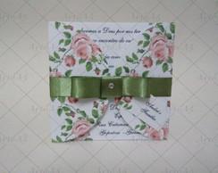 Convite Mini Floral