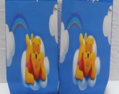 Saquinho Para Pipoca - Pooh