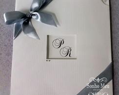 Convite De Casamento Ref. 010