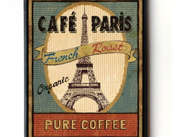 Quadro CAFE PARIS