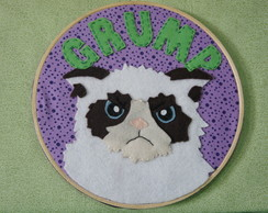 Grumpy Cat - Quadro Bastidor