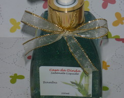 Sabonete Com Gliter Verde 200ml