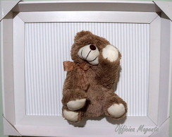 Quadro Decorativo Urso Soneca
