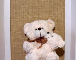 Quadro Decorativo Urso M�e e Baby