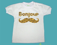 T-Shirt Beb� e Infantil BONJOUR ON�A