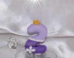 Vela Topo De Bolo Princesa Sofia Nome