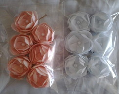 Kit de 6 Mini Flores para Damas e Noivas