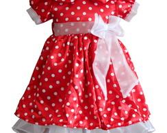 Vestido Minnie Organza Branca 1100