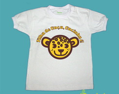 T-Shirt Beb� e Infantil FILHA DE ON�A 2