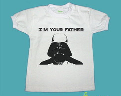 T-Shirt Beb� e Infantil I'M YOUR FATHER