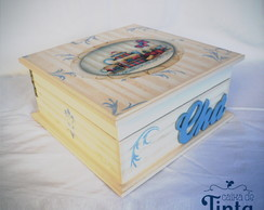 Caixa de ch� Azul