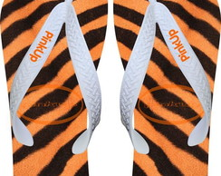 Chinelo Personalizado Animal Print