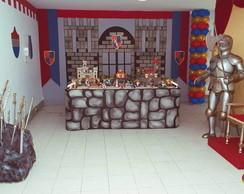 Decora��o Festa Cavaleiro Medieval