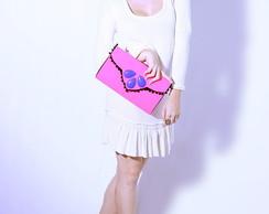 Carteira Envelope Pink