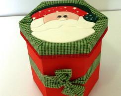 Caixa Presente Papai Noel