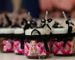 Etiquetas potinho Barbie Moda e Magia