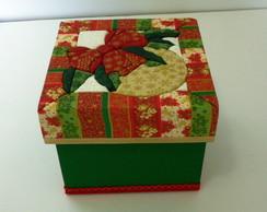 Caixa Presente Bola de Natal