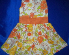 vestido  Beb�, laranja  P