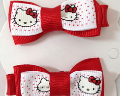 Par de la�os Hello Kitty