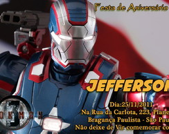 Convite - Iron Man 3