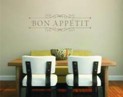 Adesivo decora��o de parede Bon Appetit