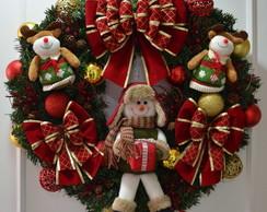 Guirlanda de Natal (n�.21) Boneco de Nev