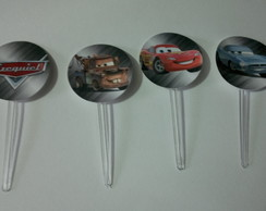 Toppers Para Doces - Carros