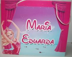 Sacolinha Personalizada Barbie Sapatilha