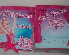 Capa Para Pirulito Barbie Sapatilhas