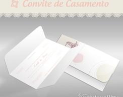 Convite de Casamento - Mini Cl�ssico