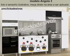 Adesivo Cozinha Galinha Angola 3