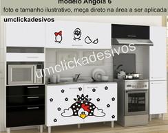 Adesivo Cozinha Galinha Angola 6