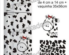 Adesivo De Geladeira Manchas De Vaca 12